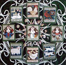 Signs of Spring - Cross Stitch Pattern