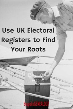 Use UK Electoral Registers to Find Your Roots. This post from Bespoke Genealogy looks at the electoral registers that are available online. #genealogy #familyhistory #ancestors #genealogyresearch #genealogyskills #heritage #familytree #uk #england