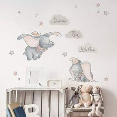 - Disney Dumbo Wall Stickers Best Picture For Disney Home Decor babies nursery For Your Taste Disney Baby Rooms, Disney Baby Nurseries, Disney Babys, Disney Bedrooms, Disney Nursery, Baby Disney, Disney Disney, Baby Girl Room Decor, Baby Boy Rooms