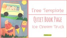 Quiet book page free
