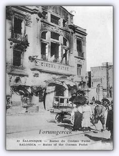 """Istanbul& first cinema hall opened in 1908 at the """"Cinema Pathe"""" # Beyoglu . - - Istanbul& first cinema hall opened in 1908 at the """"Cinema Pathe"""" # Beyoglu . Pictures Of Turkeys, Old Pictures, Old Photos, East Africa, North Africa, Istanbul Pictures, Turkey History, History Of Photography, Ottoman Empire"""