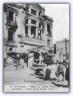 """Istanbul'un ilk sinema salonu, """"Cinema Pathe""""  #Beyoglu'nda 1908'de açıldı #istanbul #istanlook"""