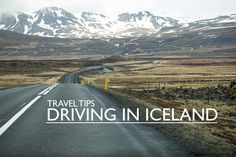 If driving in Iceland with a rental, here are some travel tips