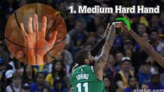 How To: Kyrie Irving Shooting Form With 33 Tips – Shotur Basketball Jump Shot Tips Basketball Shooting Drills, Basketball Drills, Basketball Players, Kyrie Irving Shot, Tracy Mcgrady, Long Shot, High Jump, Hand Type, Best Foundation