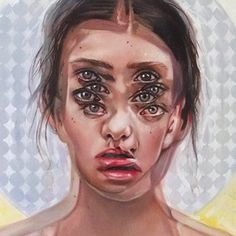 """""""End of the Tunnel"""" available directly from the artist. Oil on Canvas. Alex Garant, Co Trip, Tunnel Book, Different Kinds Of Art, Pop Surrealism, Various Artists, Art Inspo, Oil On Canvas, 3 D"""