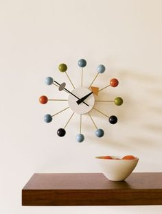 George Nelson Style Ball Clock http://www.cadesign.ie/furniture/clocks/nelson-style-ball-clock/