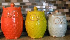 owl kitchen canisters 1000 ideas about owl kitchen decor on owl 14495