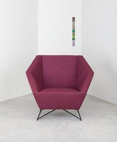 Der 3angle Sessel Von Prostoria Mit Moderner Form Ist In 10 Verschiedenen  Farben Erhältlich. #