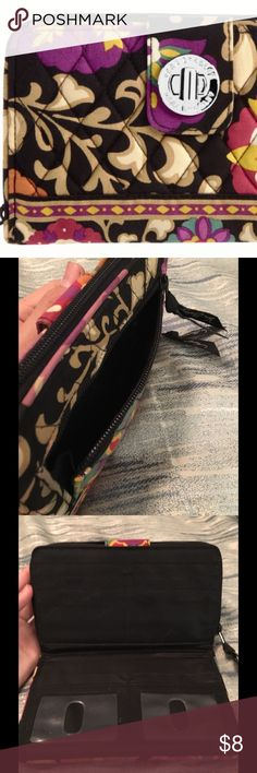 VeraBradley SuzaniLockTurnWallet see4thpic ✨❤️ Please read post on my Suzani Holiday Tote for what happened with these on a canoeing trip 😂 I have priced aggressively due to bleeding and wear, however will still consider offers through offer button. I Have Not tried to wash the wallet or tote. The first pic is a VeraBradley stock pic. Many thanks for shopping with me! ✨❤️😘 Vera Bradley Accessories Key & Card Holders