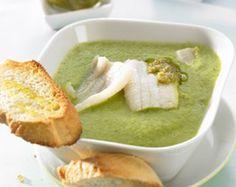 Rezept Zucchinicreme mit Seezungenfilets von Thermomix Rezeptentwicklung - Rezept der Kategorie Hauptgerichte mit Fisch & Meeresfrüchten