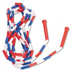 Hated these!!! Elementary school jump rope. Remember how much this would hurt when it whipped your legs?