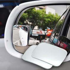 Car Mirror 360 Degree Blind Spot Mirror Wide Angle Convex Parking Auto Rear View Adjustable Mirror Accessories 2Pcs #Affiliate