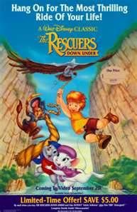 The Rescuers... i loved those movies!<3