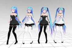 MMD Tda Miku Crasy Download !! by InoriAruma.deviantart.com on @deviantART