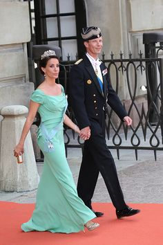Prince Joachim of Denmark and Princess Marie Agathe of Denmark attend the royal wedding of Prince Carl Philip of Sweden and Sofia Hellqvist at The Royal Palace on June 13, 2015 in Stockholm, Sweden.