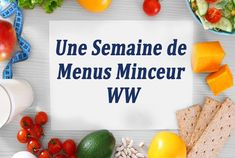 One week of WW slimming menus, a selection of week-long meals that are adapted to the ww program and 10 Day Diet Plan, Menu Ww, Spring Tutorial, Simple Muffin Recipe, Fat Flush, Detox Tea, Plated Desserts, Fitness Diet, Smoothie Recipes