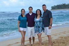 Take family pictures on the beach!