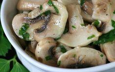 Marinated Mushrooms, Stuffed Mushrooms, Cheese Recipes, Cheese Food, Mac And Cheese, Potato Salad, Food To Make, Salads, Spaghetti