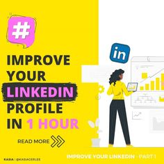 """Kasia Gerlée   Social Media 💛 na Instagramie: """"💡Simple as that, yourLinkedIn profile page is the foundation for your personal branding. Let me ask you, do you think that you pay enough…"""" Personal Branding, Read More, Thinking Of You, Improve Yourself, Foundation, Profile, Social Media, Let It Be, Reading"""