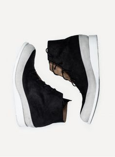 Song For The Mute - SHOE005 Leather Sneaker http://cruvoir.com/en/song-for-the-mute/1074-shoe005-leather-sneaker.html