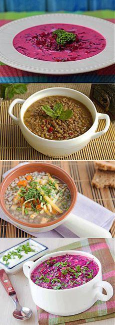 Постное меню: супы