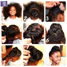 Astounding Protective Styles Going Natural And Daughters On Pinterest Short Hairstyles Gunalazisus