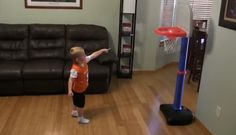 Trick Shot Titus  Ft Channing Tatum Bradley Cooper Two Year Olds Channing