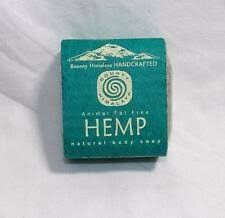 HANDMADE FAIR TRADE HEMP SOAP FROM NEPAL.