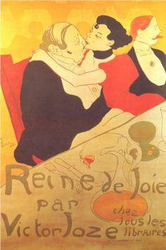 Henri de Toulouse-Lautrec  Reine de Joie