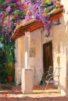 Painting by Russian Artist Oleg Trofimov Paintings I Love, Beautiful Paintings, Russian Art, Art Plastique, Figure Painting, Art Oil, Love Art, Landscape Paintings, Landscapes
