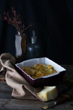 Finocchi al forno con pangrattato e arachidi