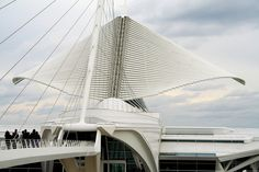 Milwaukee Museum of Art by Santiago Calatrava