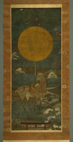 Kasuga Deer Mandala: Unknown (15th century)