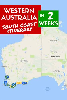 Are you planning a trip to Western Australia? Read more about our two-week itinerary along the south coast, from Perth to Esperance / Lucky Bay, and back.
