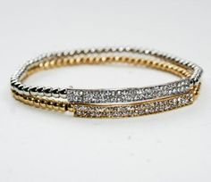 Diamond Bar Bracelet - SILVER ... from 'luckyyouluckyme' on Lilyshop for $18.00