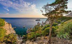 Paleokastritsa - Corfu  #Corfu #Greece #paleokastritsa #view #hdr #instaview #beautifuldestinations #beautiful #beauty #sea #seascape #sunset #amazing #ig_greece #greecestagram #clouds #mss http://ift.tt/2ctTjTt