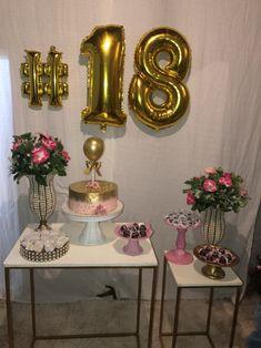 18th Birthday Party, Birthday Party Themes, Happy Birthday, 21st Bday Ideas, Its My Bday, Diy Home Crafts, Diy Party, Birthday Decorations, Event Decor