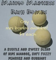 Hey, I found this really awesome Etsy listing at https://www.etsy.com/listing/241122708/mango-madness-bath-bombs-bath-bombs-bath