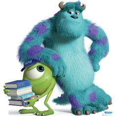 Mike and Sulley - Disney Pixar Monsters University Cardboard Stand-Up