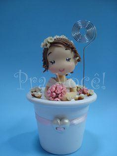 Princesa Neve by Pra Você! Criações em artesanato e decoração, via Flickr