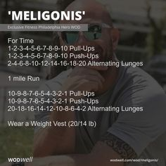 Hero Workouts, Wod Workout, At Home Workouts, Wods Crossfit, Crossfit Routines, Navy Seal Workout, Crossfit Competitions, Weighted Vest, Lunges