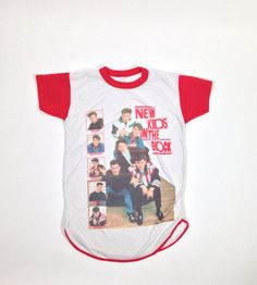 Vintage 1988 New Kids On The Block Tee    I HAD THIS ONE !! :'(