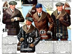1920s Mens Coats & Jackets History