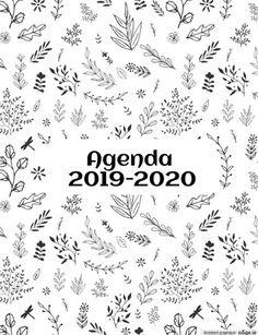 "Un agenda fait ""maison"" Version Teacher Binder, Teacher Planner, Teacher Tools, Agendas Diy, Diy Agenda, Agenda Organization, School Organization, Free Printable Calendar, Printable Planner"
