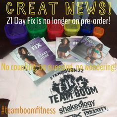With 21 Day Fix there's no counting, no guessing, and no wondering. Just easy-to -follow portion control and one 30-minute workout per day. That's all. Who's in??