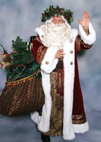 Who Will I Drink Tea With?: Santa Claus vs Father Christmas Victorian Christmas, Vintage Christmas, White Christmas, Father Christmas, Christmas Ideas, Holiday Ideas, Christmas Ornaments, Christmas Mantles, Christmas Holiday