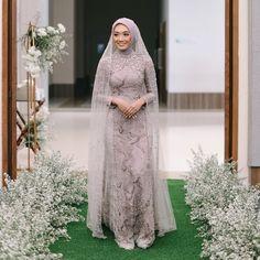 "Dinda Firdausa on Instagram: ""@erwinda_rahma 's wedding day ❤️ - Gown: @dindafirdausa.kebaya Photo: @ruangphotoworks"" Kebaya Dress, Hijab Dress, Dresses, Fashion, Vestidos, Moda, Fashion Styles, The Dress, Fasion"