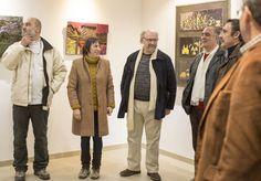 Discurso de abertura com Maria Aurora Bargado , presidente da Imargem e um representante da Câmara Municipal de Almada