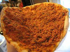 Lahmajun (Armenian Pizza)
