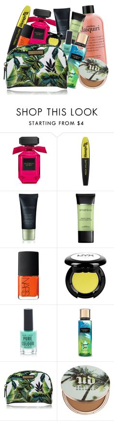 """""""Summer Punch"""" by fra3 ❤ liked on Polyvore featuring beauty, L'Oréal Paris, Laura Mercier, Smashbox, NARS Cosmetics, NYX, New Look, Milly and Urban Decay"""